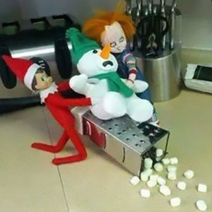 50 'Elf On The Shelf' Ideas That'll Make You Laugh Or At Least Admire People's Creativity