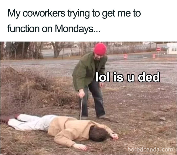 Mondays At The Office