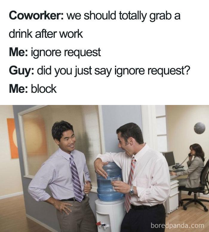 Ignore And Block