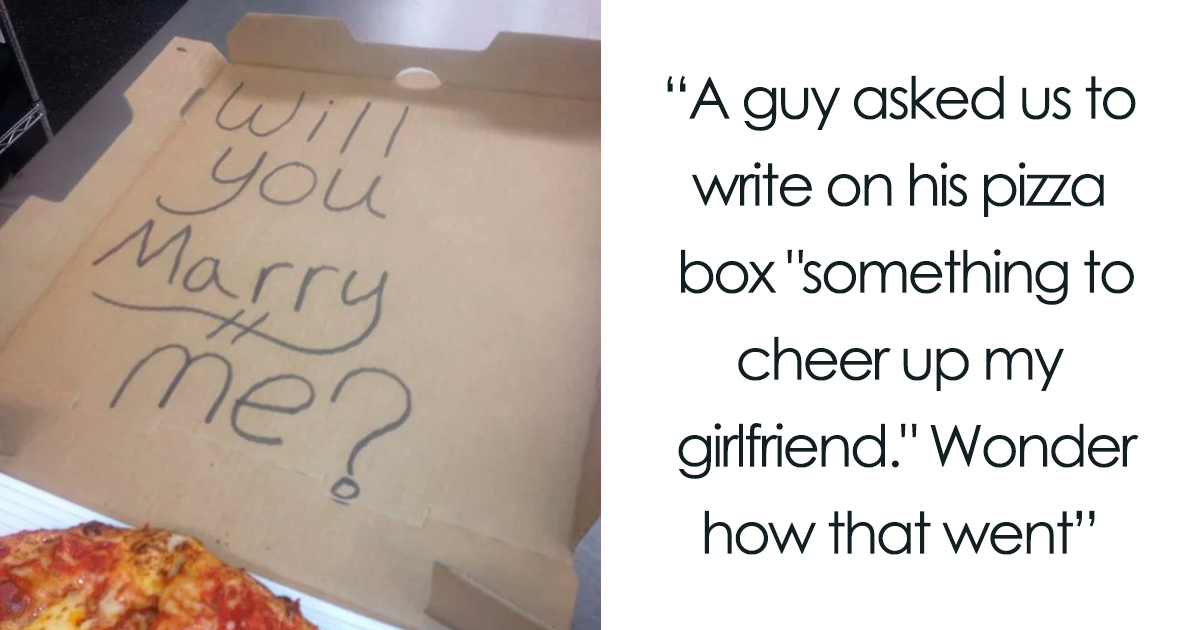 32 Of The Funniest Responses To Pizza Box Drawing Requests