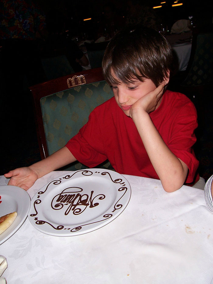 """The Waiter Asked What My Brother Wanted For Dessert, He Said """"Nothing."""" He Was Not Amused"""
