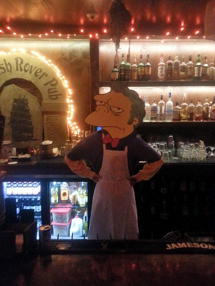 My Bartender Wins Halloween