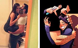 Künstler, der sein alltägliches Leben mit seiner Frau illustriert, teilt die Wahrheit über Familienplanung