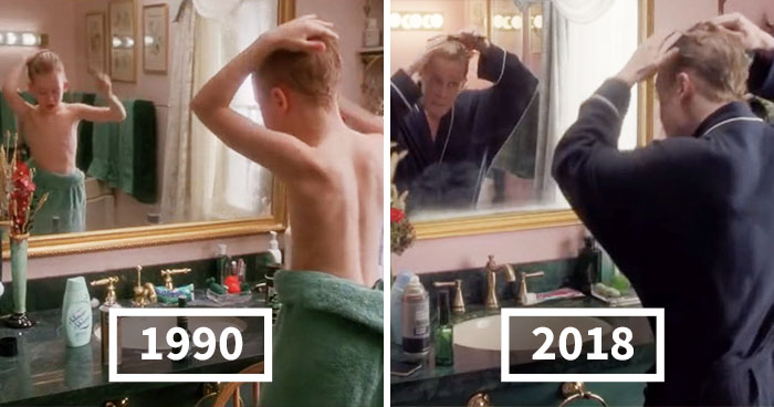 Somebody Compares 'Home Alone' 1990 Vs 2018 Ad Side By Side, And People Notice Macaulay Culkin Looks Healthy