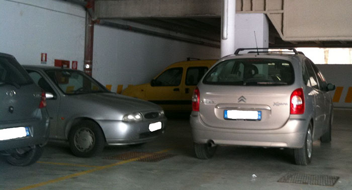 Stranger Kept Blocking This Guy's Parking Space With His Car, So He Used His Mechanic Skills To Hide It