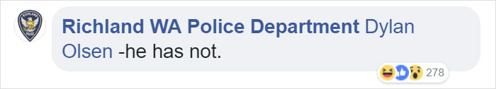 Police Release A 'Wanted' Post On Facebook, The Guy Himself Responds And They Have A Hilarious Conversation