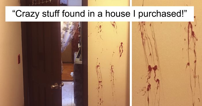 """Guy Buys A House With His Wife, Finds """"Too Much Strange Stuff"""" Inside"""