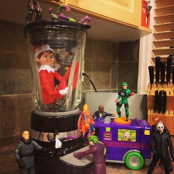 Dec3 A Trap! Will Shelf And Batman Escape The Clutches Of The Evil Underworld?!