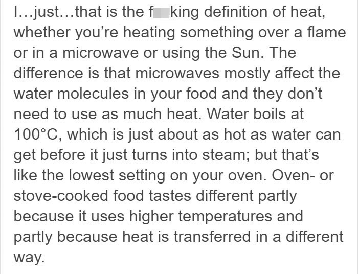 Someone 'Proves' Microwaves Are Very Dangerous, All Their 'Facts' Get Debunked One By One