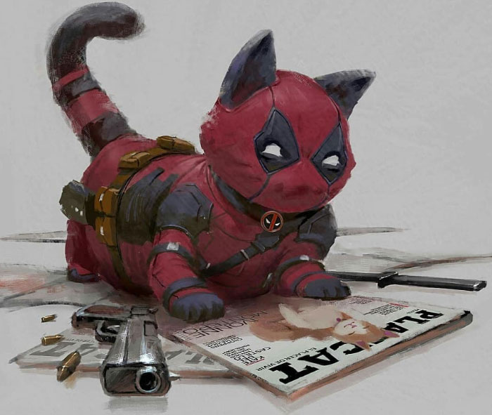 Catvengers: Cats Reimagined As Marvel And DC Superheroes By Fajareka Setiawan