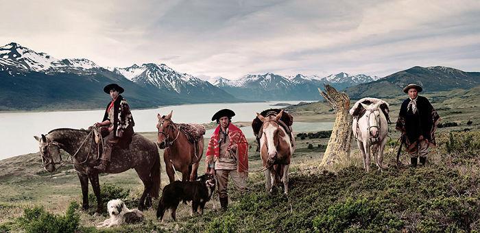 Lago Argentino / Cerro Cristal en Patagonia, Argentina