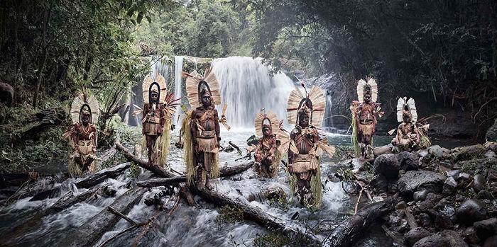 Catarata del monte Bosavi, Papua Nueva Guinea