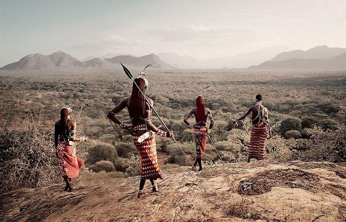 Samburu Stamm, Kenya