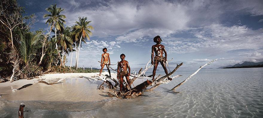 Ni Vanuatu Men Rah Lava Island, Torba Province Vanuatu Islands