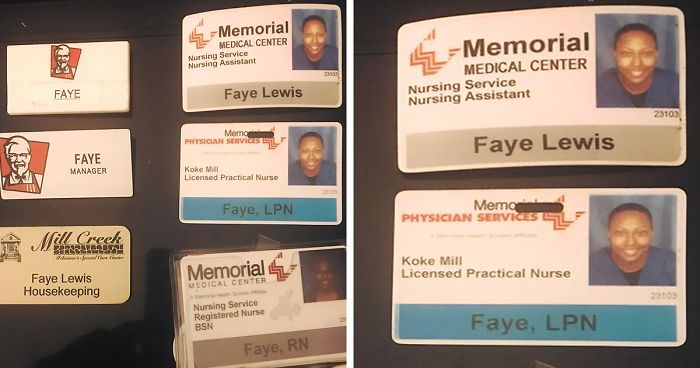 This Single Mom Demonstrates How Far She'd Come By Sharing All Her Work Badges And It's Inspiring