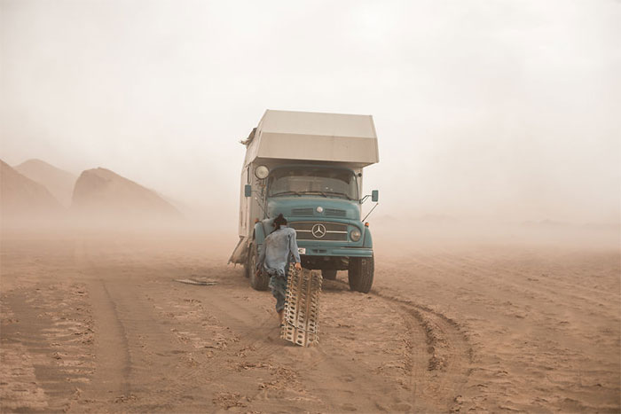 We Sold Everything And Moved Into An Old Truck To Travel And Show Our 4-Year-Old Son The Beauty Of Our Planet