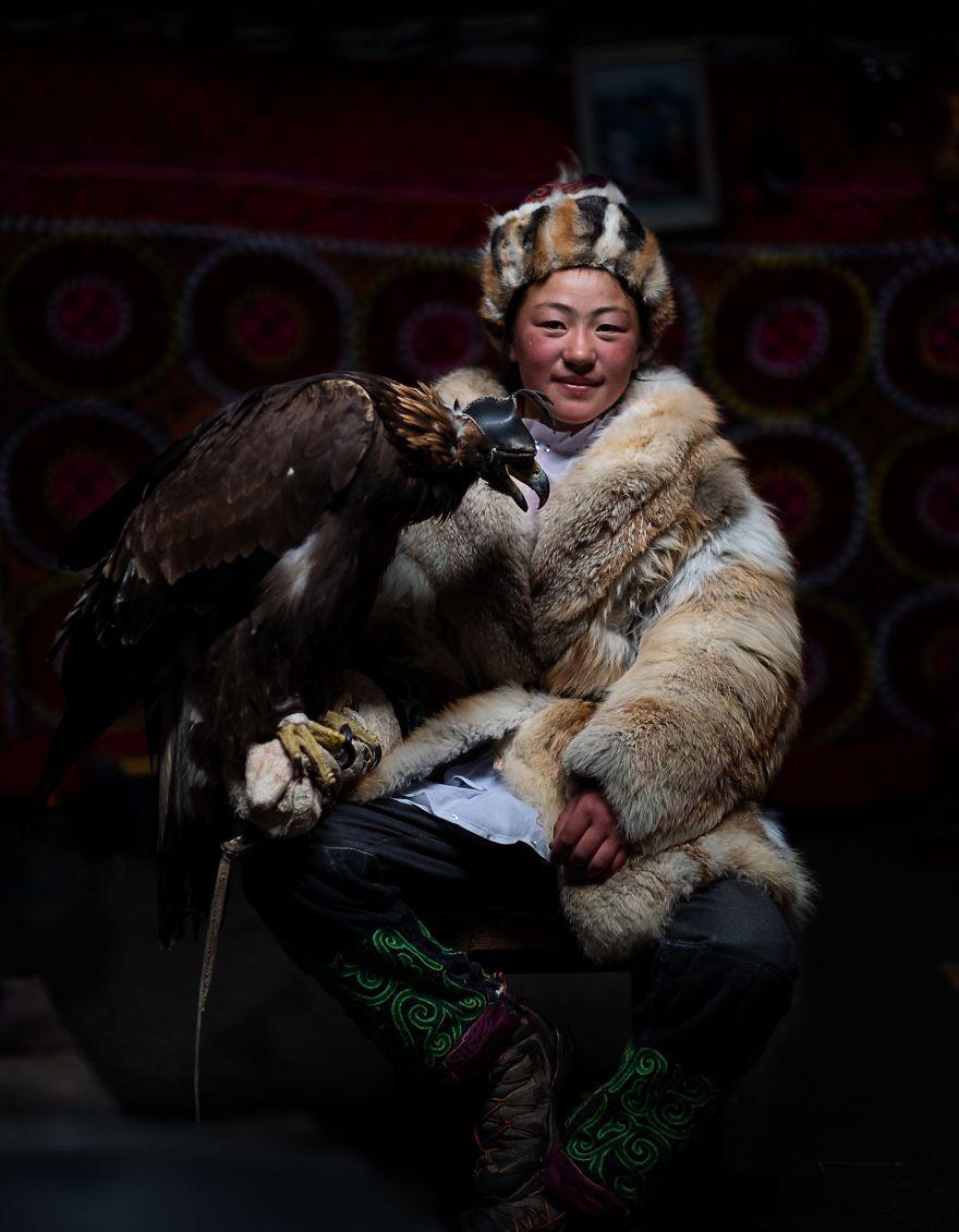 Aigerim- The Eagle Huntress, Diana Ishii
