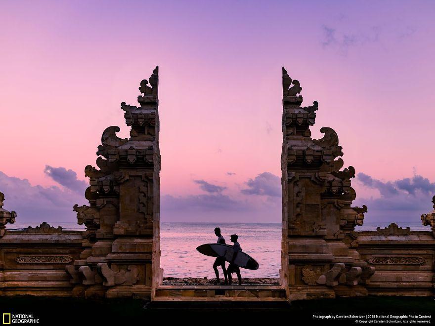 Surfers In Bali, Carsten Schertzer