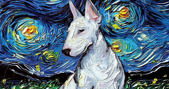 Artist's Painting Gets Mistaken For A Van Gogh, So She Creates Brilliant 'Starry Night' Series (Part II)