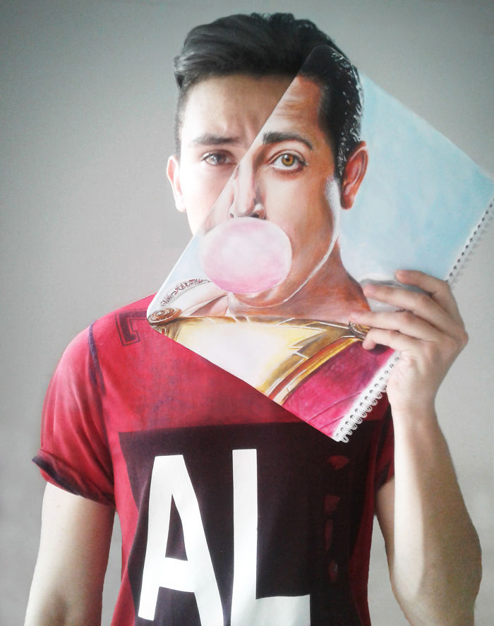 Shazam Faceoff By Ahmed Matoui