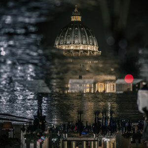 I Captured Rome In The Mirrors Made By Rain
