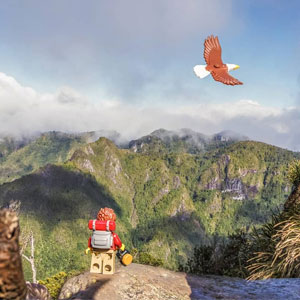 I Show The Beauty Of New Zealand Through The Eyes Of A Lego Backpacker