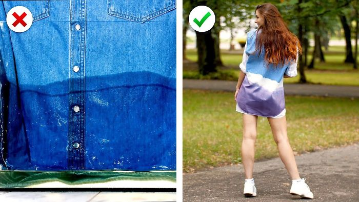 15 Cool And Easy Fashion Hacks: Reuse Jeans And More Denim Diy Ideas