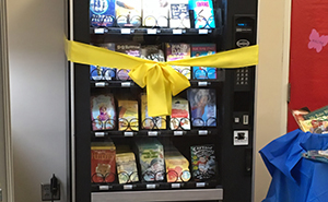 This School Came Up With The Idea Of A Book Vending Machine And Kids Are Loving It