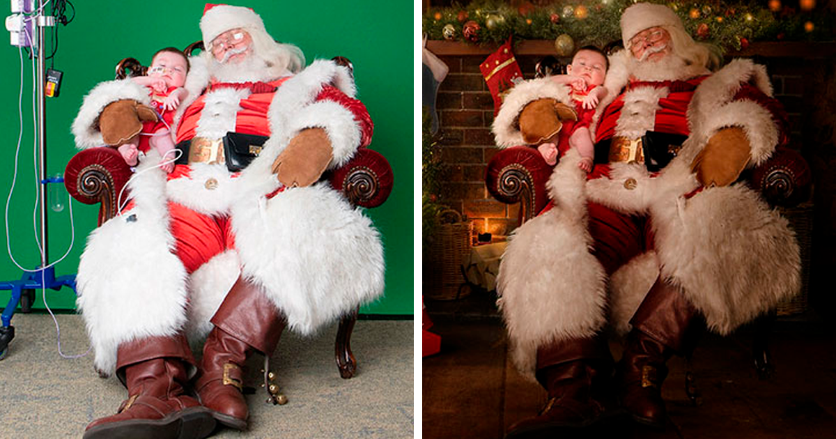 These Photographers Photograph 200 Sick Children Across The World To Create A Magical Christmas Experience