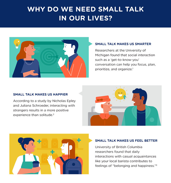 8 Tips On How To Get Better At Small Talk And Start Enjoying It