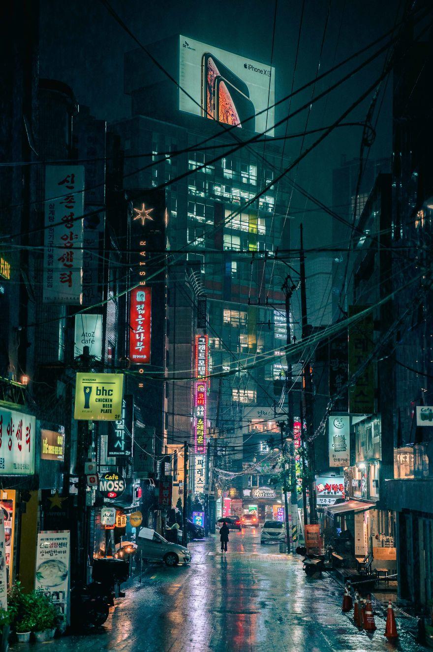 My Favorite Neon Photos Of Seoul