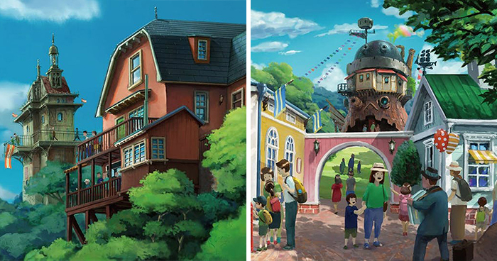 In 2022 Studio Ghibli Theme Park Will Open, And Here Are The Visualizations