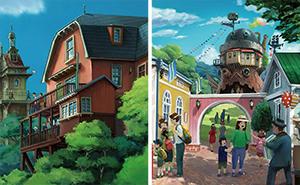 2022 wird der Studio Ghibli Themenpark in Japan eröffnet und so soll er aussehen