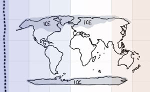 Someone Created A Comic To Illustrate How Drastically Earth's Temperature Has Changed In The Past 200 Years