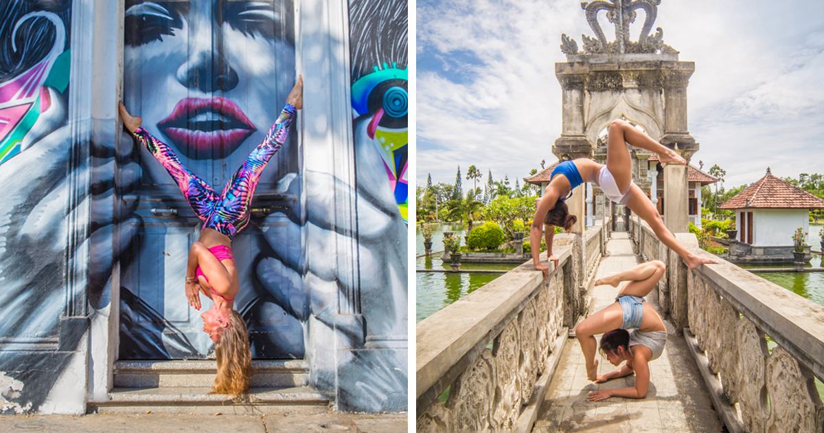 I Traveled The World For A Year To Photograph People Practicing Yoga (New Pics)