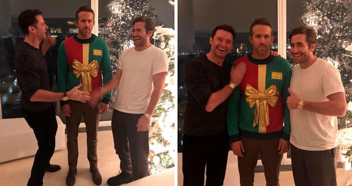 Hugh Jackman y Jake Gyllenhaal le han gastado una divertida broma a Ryan Reynolds