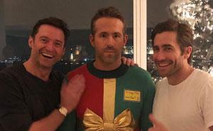 Hugh Jackman und Jake Gyllenhaal spielen Ryan Reynolds einen grandiosen Streich