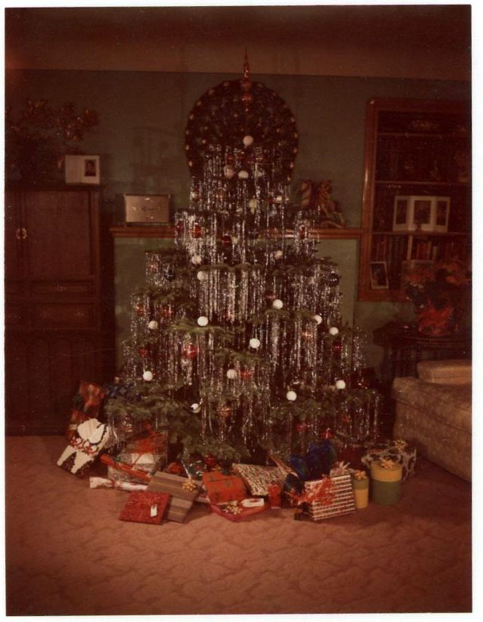 52 Photos Of Christmas Home Decor In The 1950s And 1960s