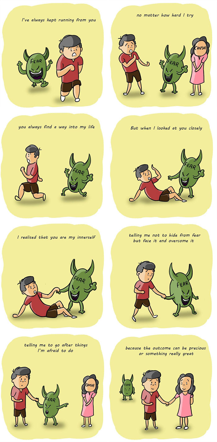 Comic On Fear