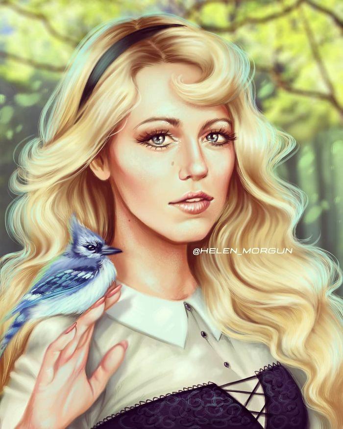 Blake Lively como Aurora