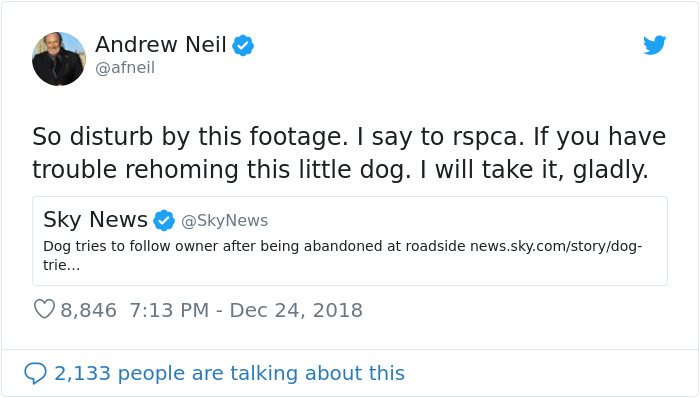 After The Video Of A Dog Who Didn't Realize He Was Being Abandoned Went Viral, Snoop Dogg Offers To Give Him A Home