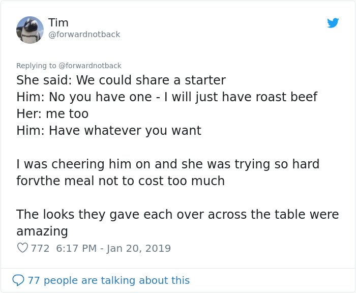 Guy Witnesses Young Man Struggling To Pay For Date In Fancy Restaurant And How Waiter 'Saves' Him