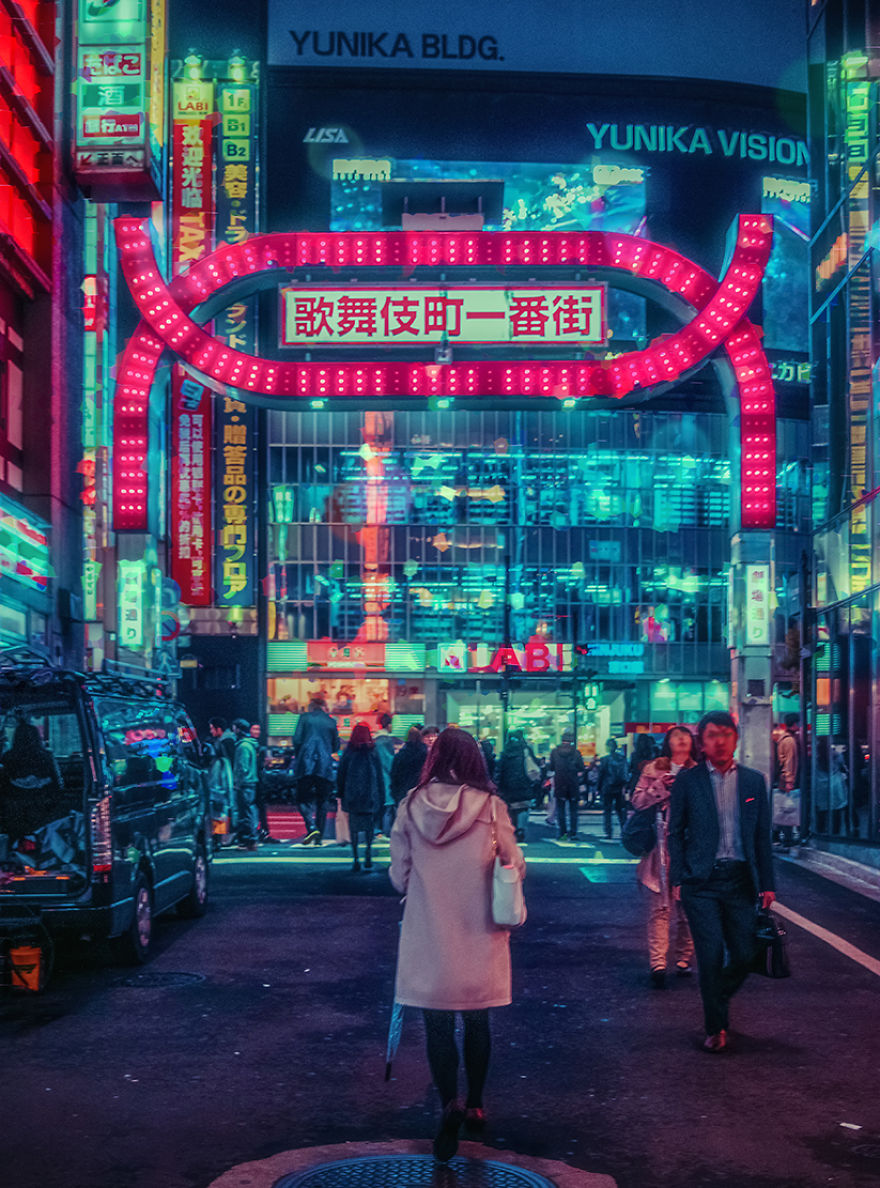 I Traveled To Japan To Capture The Wonderful Tokyo At Night