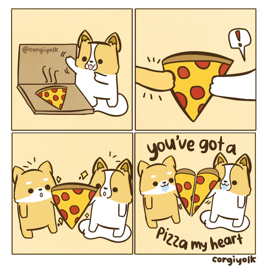 You've Got A Pizza My Heart