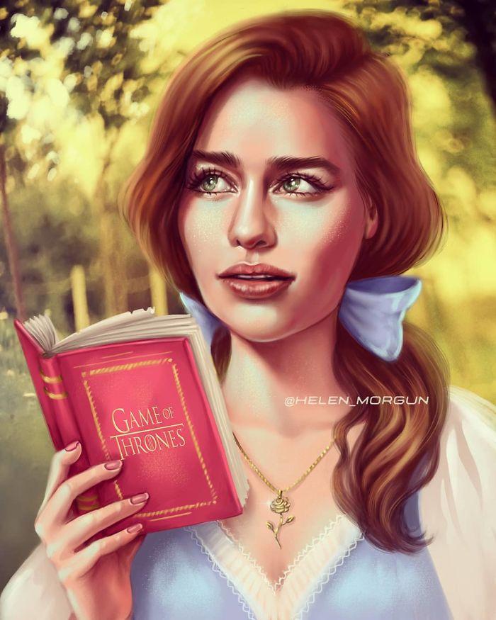 Emilia Clarke como Bella