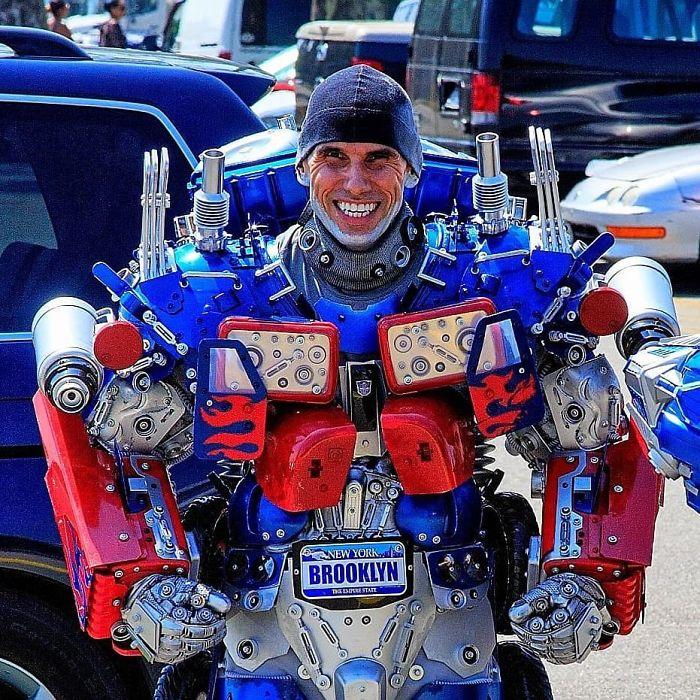 Brooklyn Optimus Prime, Unmasked