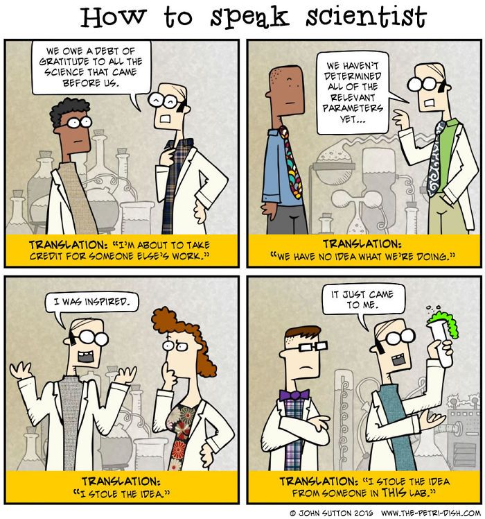 How To Speak Scientist