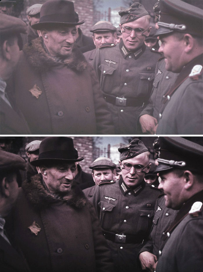 10 Heartbreaking Colorized Holocaust Photos That Were Rejected By Everyone Until I Posted Them On Bored Panda