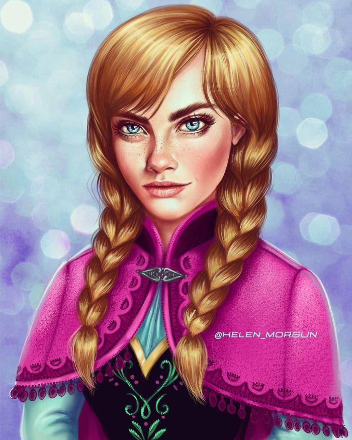 Cara Delevingne como Anna