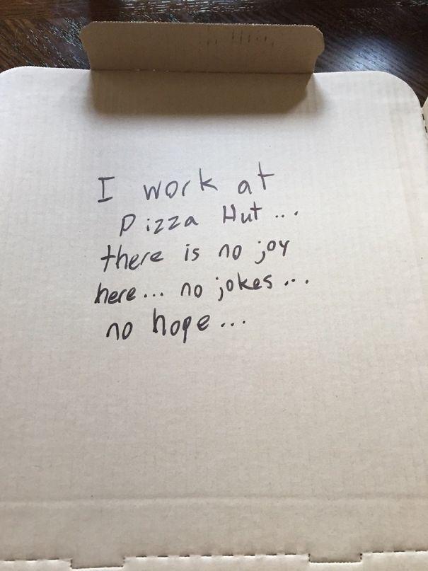 I Asked Pizza Hut To Write A Joke